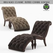 Bellagio Classic Tufted Chaise Lounge(3ddanlod.ir) 357