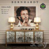 Bernhardt Chiltern Buffet(3ddanlod.ir) 002