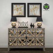 Classic Decorative Set(3ddanlod.ir) 045