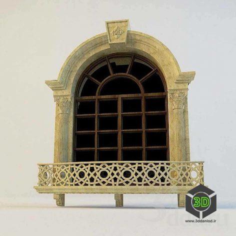 Classic Window(3ddanlod.ir)