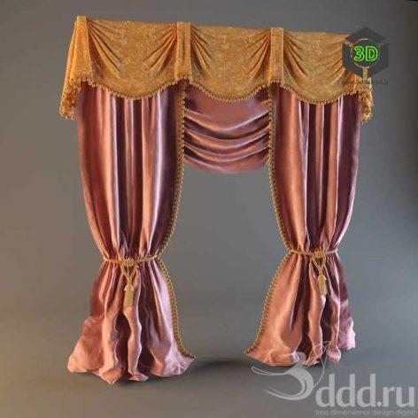 Curtain174 (3ddanlod.ir)