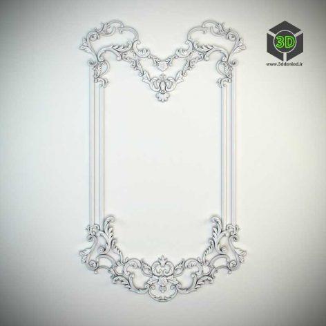 Decorative Frame (3ddanlod.ir) 028
