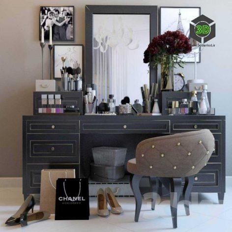 Decorative Set Dresser 2(3ddanlod.ir) 019
