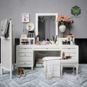 Decorative Set Dresser(3ddanlod.ir) 028