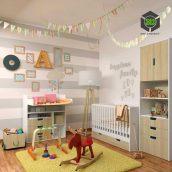 Decorative Set for a Children N3(3ddanlod.ir) 151