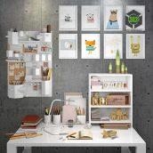 Decorative Set of Stationery(3ddanlod.ir) 156