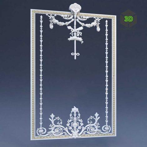 Decorative mirror (3ddanlod.ir) 055