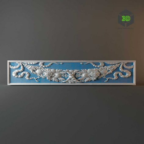 Decorative plaster panels (3ddanlod.ir) 056