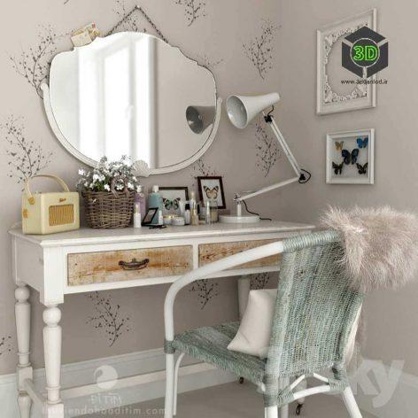 Dressing Table by Many-jjj(3ddanlod.ir) 030