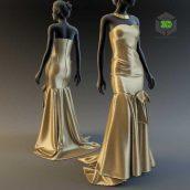 Evening Dress(3ddanlod.ir) 107