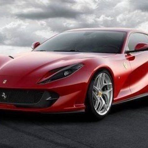 Ferrari 812 Superfast 3D Model(3ddanlod.ir)