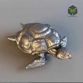 Figurine Turtle top view(3ddanlod.ir) 193