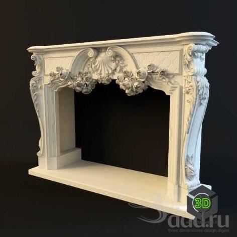 Fireplace Oktopulos(3ddanlod.ir)