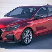 Hyundai i30 N-line 2019 3D Model(3ddanlod.ir)
