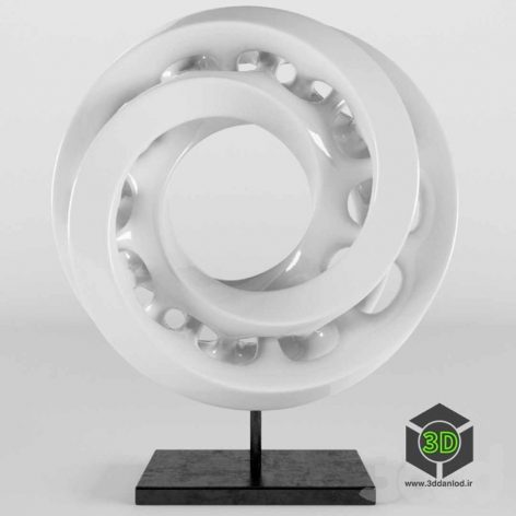 Interlocked Mobius Strip(3ddanlod.ir)
