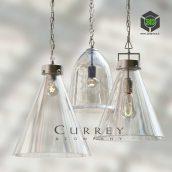 Kitchen Glass Pendant Set by Currey(3ddanlod.ir) 029