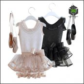 Pointe Shoes with Dress(3ddanlod.ir) 102