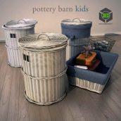 Pottery Barn Kids Basket(3ddanlod.ir) 010