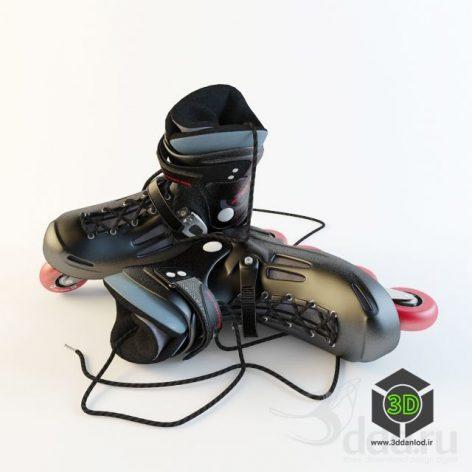RollerBlade_Roller Skates(3ddanlod.ir)