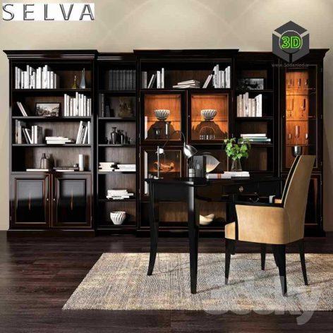 Selva Arena Bookcase(3ddanlod.ir) 023