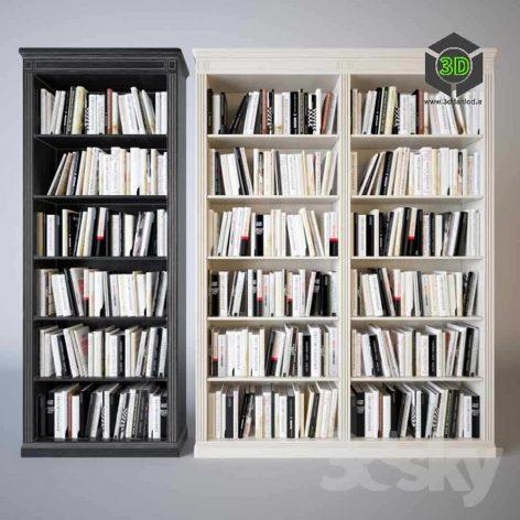 دانلود مدل سه بعدی کتابخانه مدرن 017