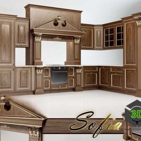 Sofia Kitchen(3ddanlod.ir)