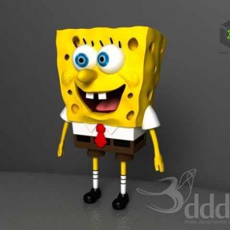 Spongebob_Toy (3ddanlod.ir)