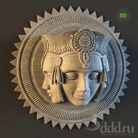 bas Brahma_decor_plaster_molding (3ddanlod.ir)