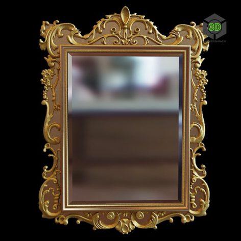 classic mirror 018 (3ddanlod.ir)
