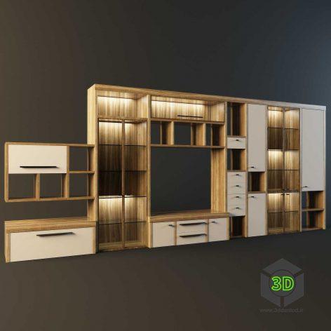 modern Buffet furniture 004 (3ddanlod.ir)