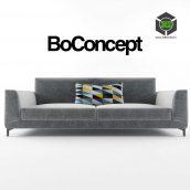 modern sofa 016 (3ddanlod.ir)