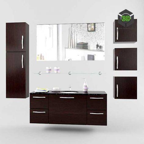 modern washbasin 012 (3ddanlod.ir)
