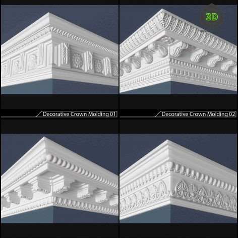 plaster modeling 001 (3ddanlod.ir)