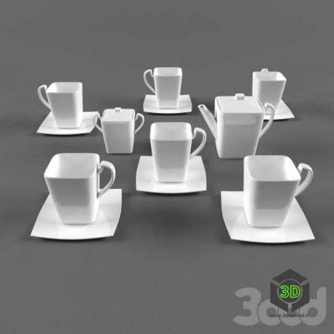 Кофейный сервиз(3ddanlod.ir)