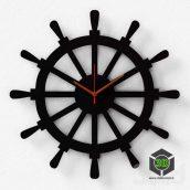 Настенные часы DIDIART Штурвал(3ddanlod.ir)