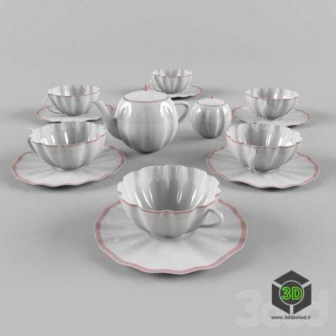 Чайный сервиз(3ddanlod.ir)
