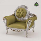 classic armchair - (3ddanlod.ir) 005