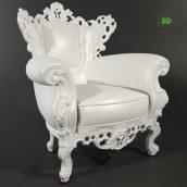 classic armchair - (3ddanlod.ir) 008