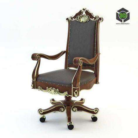 office classic chair (3ddanlod.ir) 013