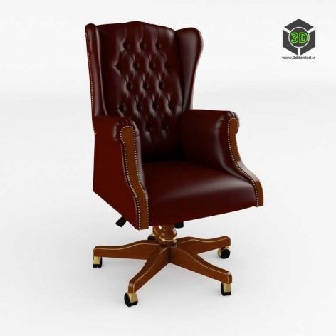 office Swivel armchair – (3ddanlod.ir)