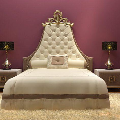 classic bed (3ddanlod.ir)