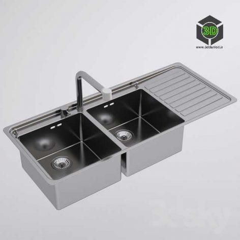 Alpes Inox Kitchen Sink(3ddanlod.ir) 096