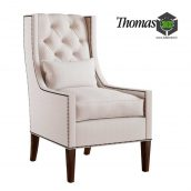Chandler Wing Chair(3ddanlod.ir) 297