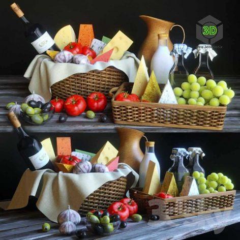 Cheese Basket(3ddanlod.ir) 140