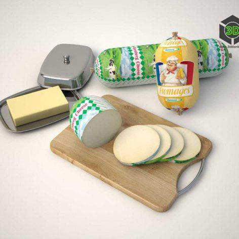 Cheese Sausage(3ddanlod.ir) 236