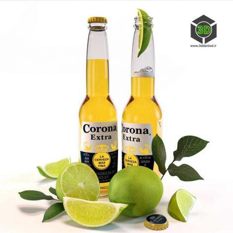 Corona Extra Beer(3ddanlod.ir) 004