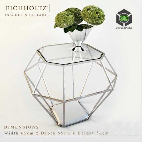 EICHHOLTZ ASSCHER SIDE TABLE with Silv by Gervasoni(3ddanlod.ir)