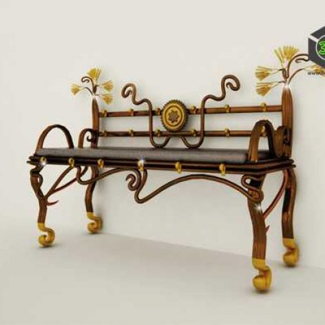 Egyptian bench (3ddanlod.ir)