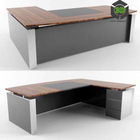Executive Desk - Koleksiyon(3ddanlod.ir)