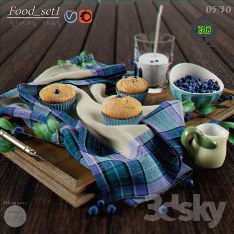 Food Set1(3ddanlod.ir) 108